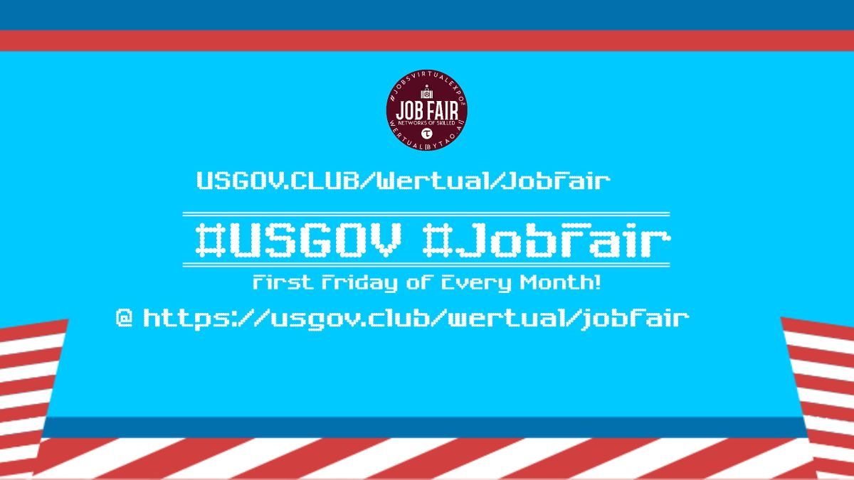 Monthly #USGov Virtual JobExpo / Career Fair #San Francisco   Event in San Francisco   AllEvents.in