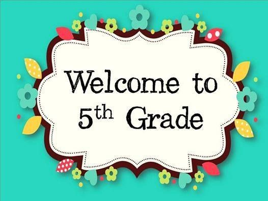 Image result for 5th grade student orientation