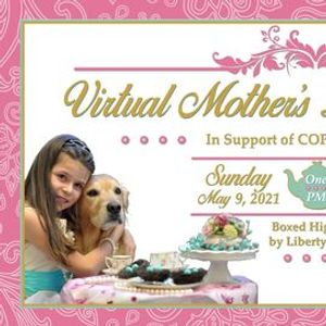 COPE Service Dogs Virtual Mothers Day High Tea