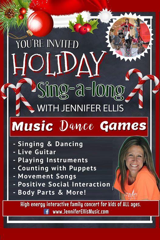 Jennifer Ellis Holiday Sing-a-long Kids Concert at Fresh Thyme