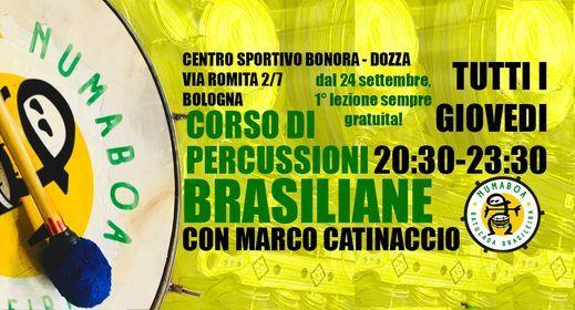 Laboratorio di Percussioni Brasiliane - Samba Carioca, Samba de Enredo, 21 January | Event in Granarolo Dell'emilia