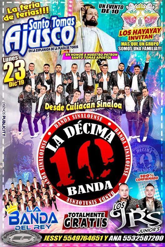Baile De Feria La Dcima Banda Santo Tomas Ajusco TlalpanCdmx
