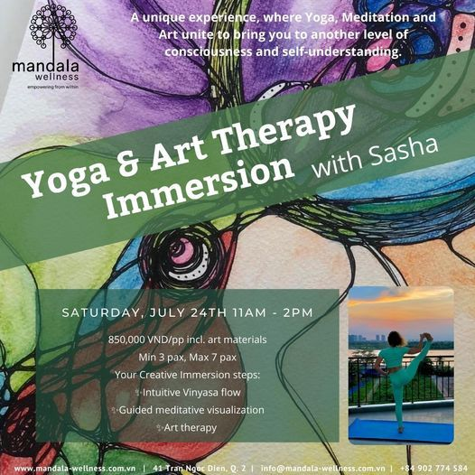 Yoga & Art Therapy Immersion   Event in Ho Chi Minh City   AllEvents.in