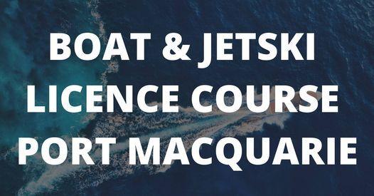 Boat & Jetski Licence Port Macquarie   Event in Port Macquarie   AllEvents.in