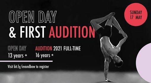 Open Day and FIRST Audition for 2021