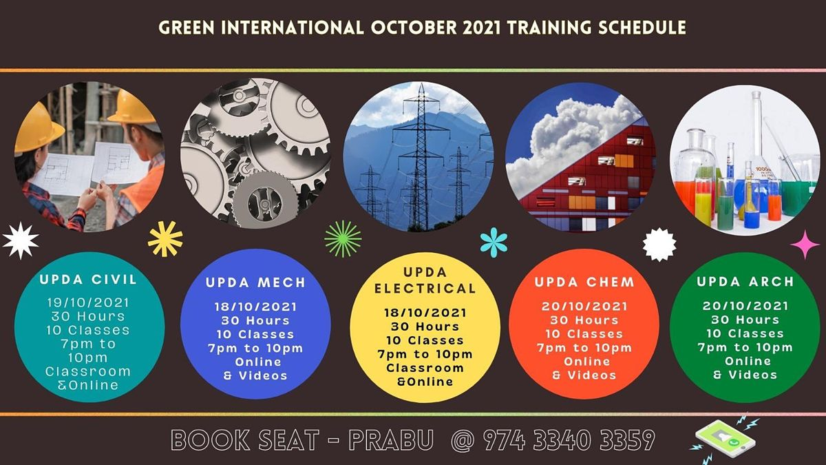 Exam for engineers in Qatar – MMUP Architecture | Event in Chennai | AllEvents.in