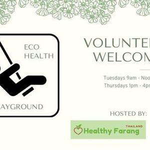 Volunteer  the EcoHealth Playground