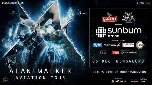 Sunburn Arena with Alan Walker