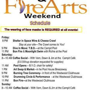 Fire & Arts Weekend
