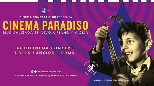 "Autocinema Concert:  ""Cinema Paradiso a piano y violín"" CDMX, 17 January   Event in Naucalpan   AllEvents.in"