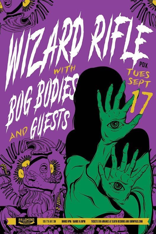 Wizard Rifle (Portland) with Bog Bodies and Burro
