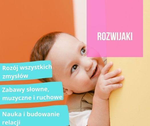 Rozwijaki - zajęcia umuzykalniające dla najmłodszych (6-36 mis.) | Event in Gdansk | AllEvents.in