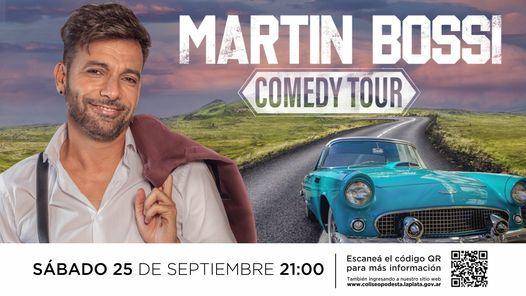 MARTIN BOSSI   Teatro Coliseo Podestá, 22 September   Event in La Plata   AllEvents.in