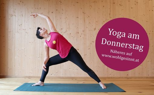 WOHLbeWEGT Yoga bei Claudia - Donnerstag, 15 April | Event in Salzburg | AllEvents.in