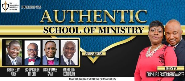Authentic School of Ministry, 3 March | Event in Accra | AllEvents.in