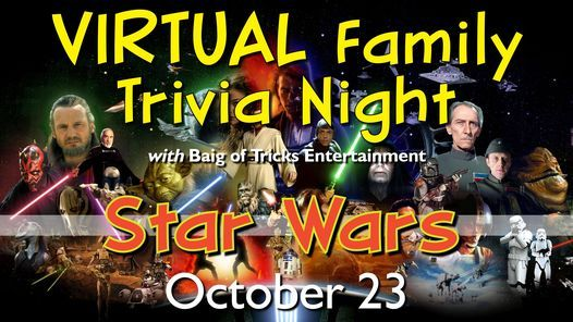 Star Wars Family Trivia Night, 23 October | Event in Mount Prospect | AllEvents.in