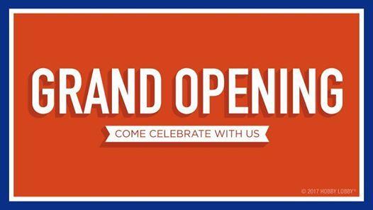 Grand Opening San Diego CA