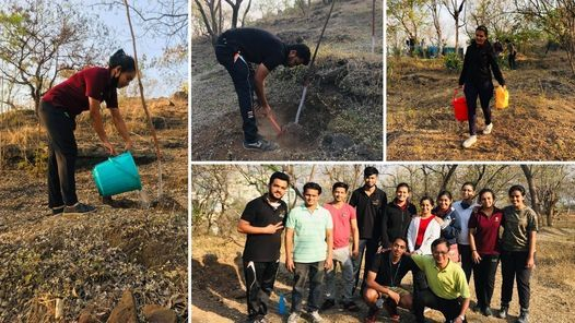 Painting & Watering To Saplings with Nelda at Hanuman Tekdi | Event in Pune | AllEvents.in