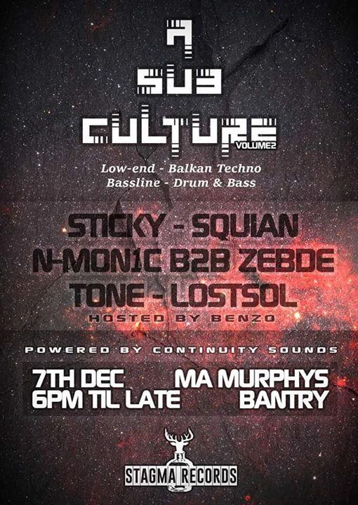 A Sub Culture 2 A Night of Low-endBalkanTechnoBasslineDNB