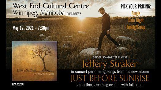 Jeffery Straker, 12 May | Event in Winnipeg | AllEvents.in