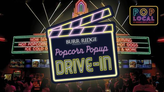 Popcorn Popup Drive-In Evening Movie