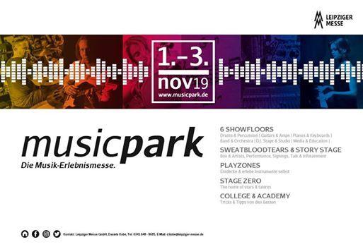 musicpark 2019 - Die Musik-Erlebnismesse