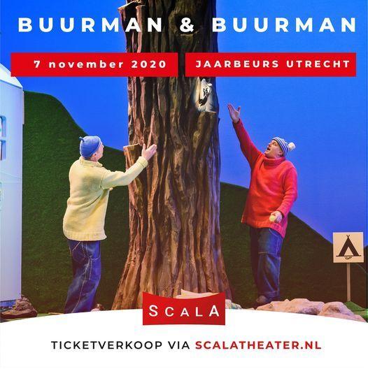 SCALA Theater - Buurman & Buurman gaan kamperen..., 7 November | Event in Utrecht | AllEvents.in