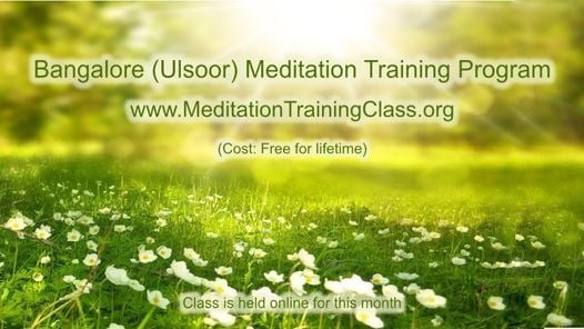 Free Online 2-Day Meditation Training Program (Bangalore KA)   Event in Bangalore   AllEvents.in