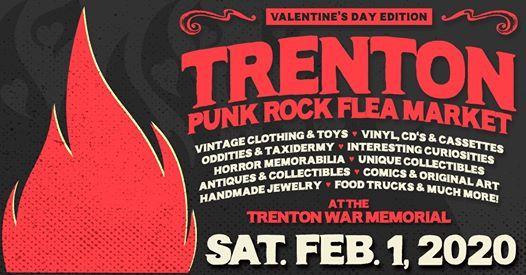 Trenton Art Fair 2020.Trenton Punk Rock Flea Market My Punk Rock Valentine At