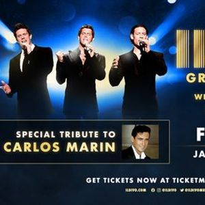 IL DIVO For Once In My Life Tour A Celebration Of Motown
