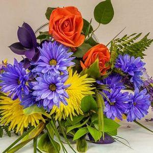 Advanced flower course Table arrangement R550