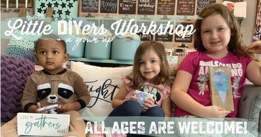 MOMMY/DADDY & ME: TODDLER/PRESCHOOL MINI-DIYS!, 13 April   Event in Cypress   AllEvents.in