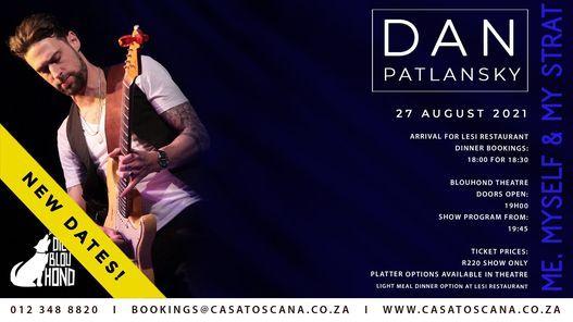 "Dan Patlansky ""Me, myself & my Strat"", 27 August | Event in Pretoria | AllEvents.in"