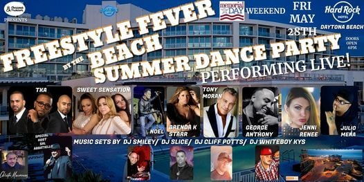 Freestyle Fever - Summer Dance Party, 28 May | Event in Daytona Beach | AllEvents.in