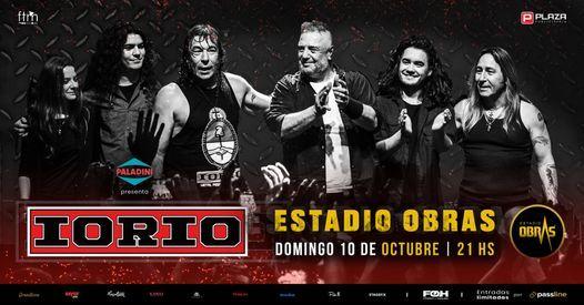 IORIO en Obras!, 10 October   Event in Núñez   AllEvents.in