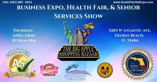 South Florida Business Expo, Health Fair & Senior Show, 28 October | Event in Delray Beach | AllEvents.in