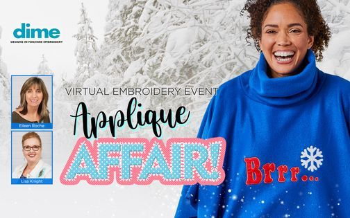 Sewing & Vacuum Warehouse - Applique Affair Virtual Event, 10 November | Online Event | AllEvents.in