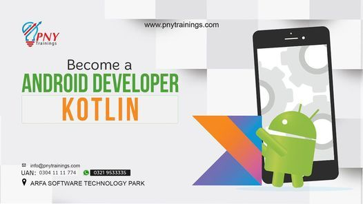 Become a Android Developer with Kotlin, 8 November | Event in Lahore | AllEvents.in