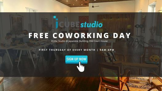 FREE Coworking Day- First Thursday of Every Month, 6 May   Event in Kuching   AllEvents.in