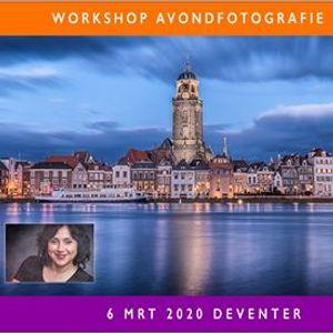 Workshop Avondfotografie in Deventer 6 maart