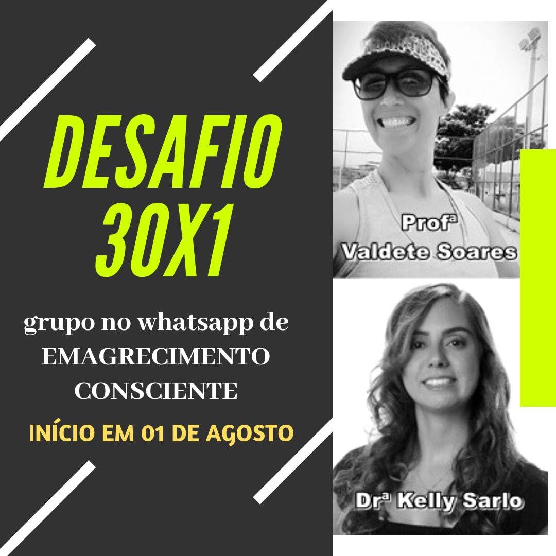 DESAFIO 30X1 - EMAGRECIMENTO CONSCIENTE
