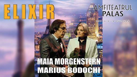 Spectacol teatru  Elixir cu Maia Morgenstern i Marius Bodoch