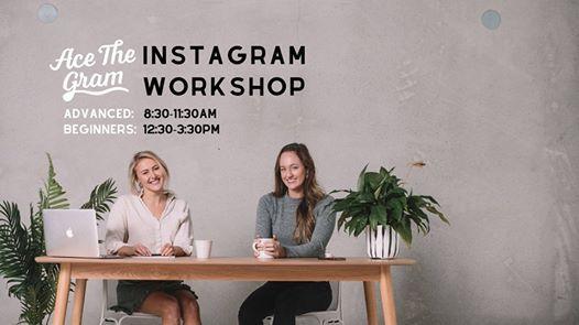 Wellington Instagram Workshops (Beginners & Advanced)