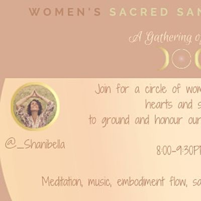 Full Moon Womens Circle- A Gathering of Hearts