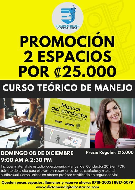 Curso Teórico De Manejo At Dictamen Digital Costa Rica