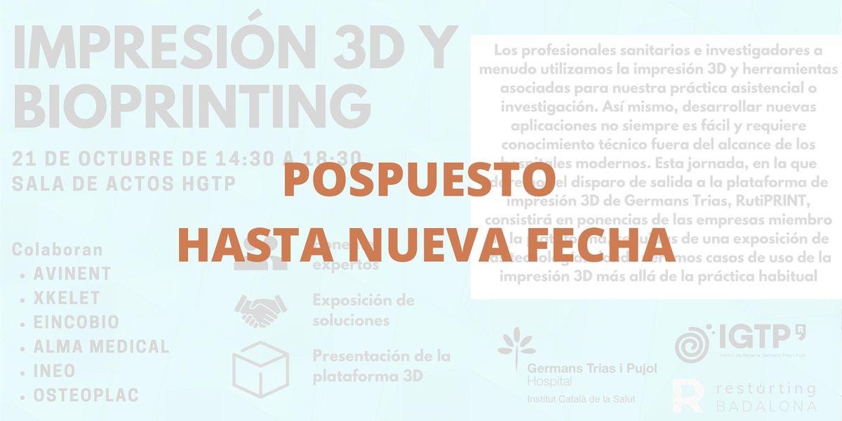 Impresión 3D y bioprinting: fabricando la salud del futuro | Event in Badalona | AllEvents.in
