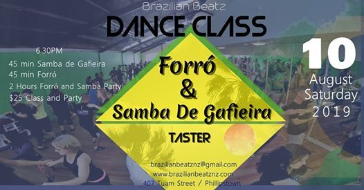 Brazilian Samba de Gafieira and Forró Taster at Brazilian