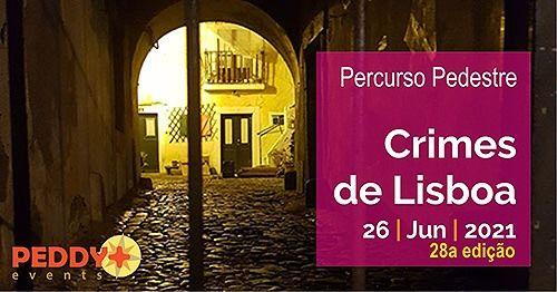 """Percurso Pedestre """"Crimes de Lisboa"""" (28ª Edição), 26 June   Event in Lisbon   AllEvents.in"""