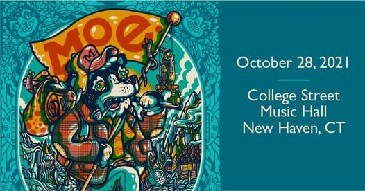 moe. at College Street Music Hall (New Haven), 28 October | Event in New Haven | AllEvents.in