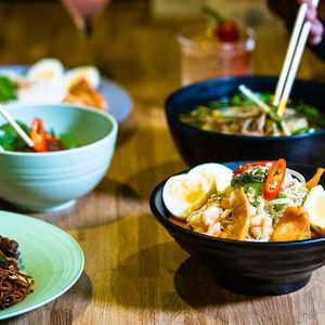 Asian Street Food Bottomless Brunch at Tai Pan Alley